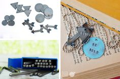Stamp on It! - Metal Stamping Sets & Pendants #metalstamps pickyourplum.com