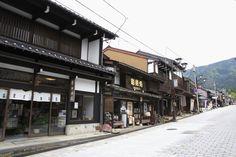 井波の門前町。