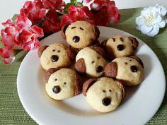 Cute dog cookies