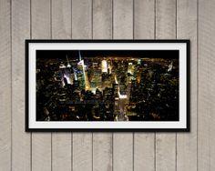 Fotografia di New York Night view from Empire State di ArchiPhoto, €24.00