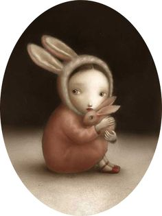I love Nicoletta Ceccoli's pop surrealists artwork. this is from her website.
