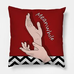 Twin Peaks - Meanwhile - Meanwhile - Pillow | TeePublic Twin Peaks, Twins, Throw Pillows, Cushions, Decorative Pillows, Twin, Decor Pillows, Gemini, Scatter Cushions