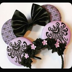 Haunted Mansion Ears Halloween Ears will start to appear at my next opening…