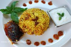 Estamboli or Eslamboli Polow ~ Persian Tomato Rice