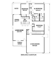 Houseplanscom Upper Floor Plan Plan Minecraft Ideas - Craftsman style narrow house plans