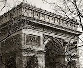 One of two triumphal arches Napoleon built to celebrate his victories, this dazzling Paris monument has one of the best panoramic views of the City of Light. Paris Landmarks, City Lights, Napoleon, Arches, Louvre, Building, Places, Travel, Viajes
