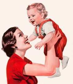 1950s mother and child - Google Search