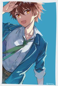 Cool Anime Guys, Hot Anime Boy, I Love Anime, Anime Boys, Boboiboy Anime, Anime Art, Cheveux Oranges, Neko, Card Captor