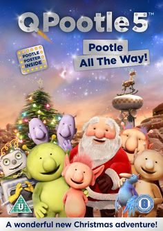 q pootle 5 pootle all the way, special christmas edition on dvd