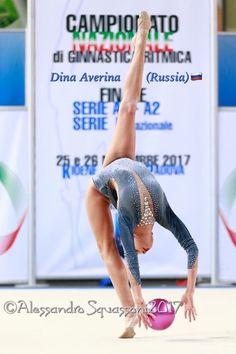 Dina AVERINA (Russia) ~ Ball @ National Championships in Italy-Padova 2017/11/26-25    Photographer Alexandro Squassoni.