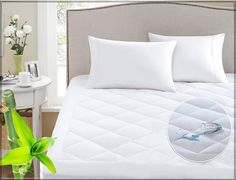 For a worry-free night's sleep, the Sleep Philosophy Harmony waterproof Scotchgard mattress protector pad has you and your mattress covered. The hypoallergenic mattress pad features a waterproof backing as well as Scotchgard Moisture Wicking Pr Queen Mattress, Best Mattress, Mattress Pad, Mattress Covers, Mattress Protector, Foam Mattress, Duvet Covers, Scotchgard, Houses