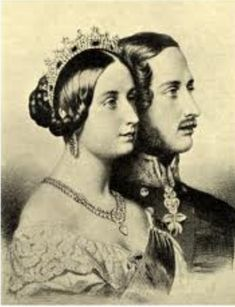 Queen Victoria and Prince Albert - 1840