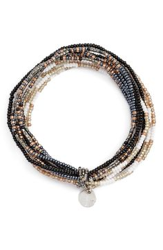 Free shipping and returns on Chan Luu Patterned Seed Bead Stretch Bracelet at Nordstrom.com. Add some glamour to an armful of minimalist bangles with an intricate stretch bracelet made in a mix of glossy seed beads.