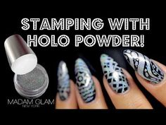 (3) STAMPING WITH HOLO POWDER | ✔️ OR ❌| MADAM GLAM BLACK FRIDAY 40% OFF! - YouTube