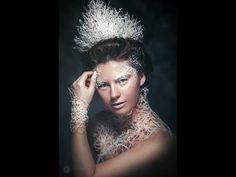 diy snow crown tutorial - YouTube