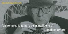 El 11 de mayo de 1932 #TalDíaComoHoy nació el escritor español Francisco Umbral, nacido Francisco Pérez Martínez. Considerado una de las figuras más relevantes de la literatura española del siglo XX, fue galardonado con el premio Príncipe de Asturias de las Letras en 1996  y con el Cervantes en el 2000.