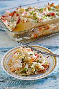 Chinese Buffet Seafood Bake Delight Crab Casserole The best baked crab casserole with lobster and shrimp. It's creamy, cheesy and loaded with seafood flavors. Make Chinese buffet seafood bake delight with this easy copycat recipe and video. Crab Bake, Seafood Bake, Seafood Salad, Copycat Recipes, Fish Recipes, Asian Recipes, Easy Lobster Recipes, Canned Crab Recipes, Appetizer Recipes