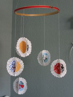 Handmade Mobile, A Baby Favorite by Jane Little, via Flickr