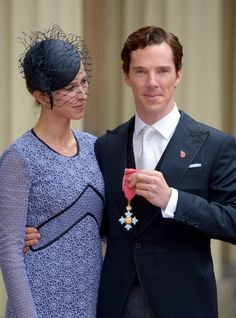 Pin for Later: Benedict Cumberbatch and Sophie Hunter Make a Visit to the Palace