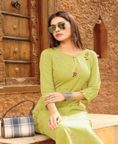 ✓Top : Rayon Viscose With Embroidery Work ✓Price : : ✓Availability : On Booking At Textilebuzz ✓Set To Set. Kurti, Embroidery, Lady, Book, Design, Style, Fashion, Swag, Moda