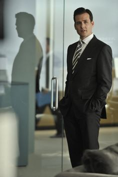 Gabriel Macht in Tom Ford, Suits
