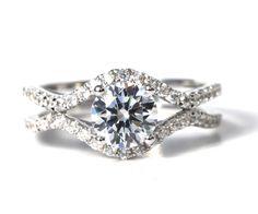 CUSTOM Made For YOU  1.45 carat Round  Diamond by BeautifulPetra, $4,000.00
