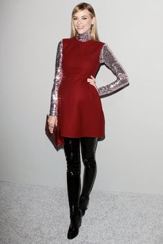 Celebrities Wearing Metallic Clothing and Accessories | Teen Vogue
