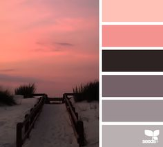 Design Seeds + Color Atlas by Archroma® Colour Pallette, Color Palate, Colour Schemes, Color Combos, Color Patterns, Sunset Color Palette, Design Seeds, Color Concept, Colour Board