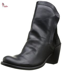 Fly London Thus, Boots femme - Noir (Black/Black), 39 EU (7 UK) (8 US) - Chaussures fly london (*Partner-Link)