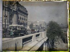These incredible photographs of early-20th-century Paris were taken between 1907 and 1930 by photographers such as Léon Gimpel, Stéphane Pas...
