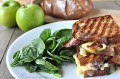 Apple+Bacon+Cheddar Grilled Cheese