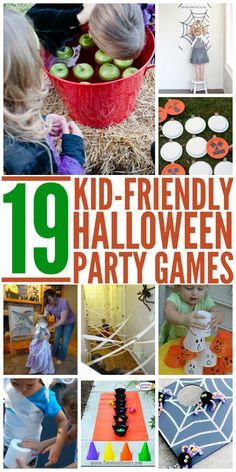Halloween will be here before we know it. So lets make this years party amazing with these fun, kid-friendly Halloween party games.