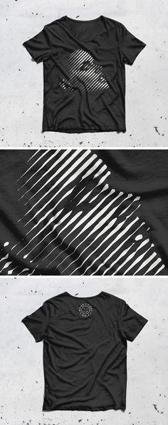 Mockup camiseta psd v7 | Crea una presentación impecable para tus obras de arte o diseños de indumentaria con esta maqueta de cuello redondo. Mockup ...
