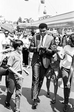 Ali in Tomorrowland.