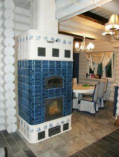 Фламандская изразцовая печь