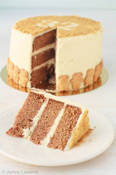 spice layer cake with cream cheese frosting | kitchen heals soul