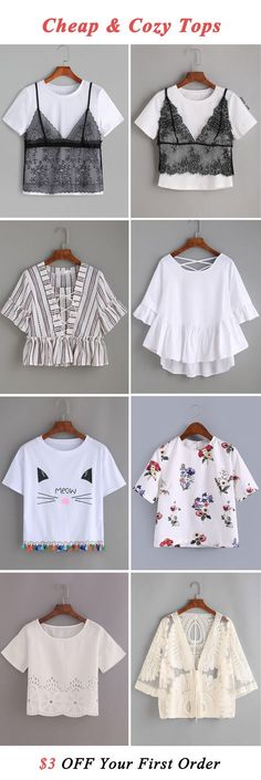 Cheap & comfy tops!