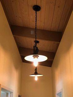 Vintage ceramic porcelain ceiling rose black antique style retro light fitting