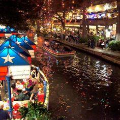 Riverwalk, San Antonio I actually live here. Beautiful