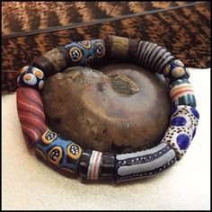 Murano Millefiori Glass Bead Bracelet 1970s Vintage Jewelry http://www.greatvintagejewelry.com/inc/sdetail/murano-millefiori-glass-bead-bracelet-1970s-vintage-jewelry-/17489/19424