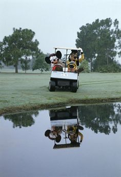 mickey and goofy!simpleswingthoughts.com