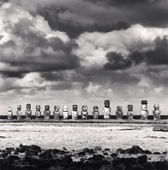 Easter Island · photos by Michael Kenna