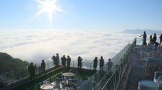 北海道最接近天堂的「雲海CAFE」