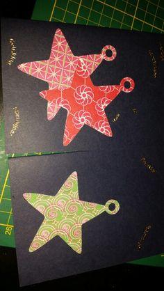 kerstkaart kerst sterren