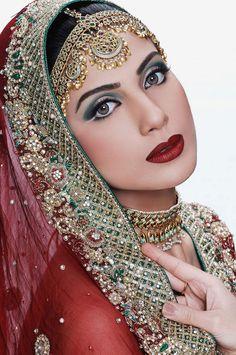 An Indian beauty ...