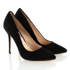 Lucy Choi Black THERESE Women's Stiletto Court Shoe #danielfootwearxmas