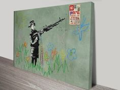 Banksy Child Soldiers http://www.canvasprintsaustralia.net.au/product/banksy-child-soldiers-wall-art-print/