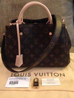 Louis Vuitton Montaigne Bb Monogram Cross Body Bag $2,250