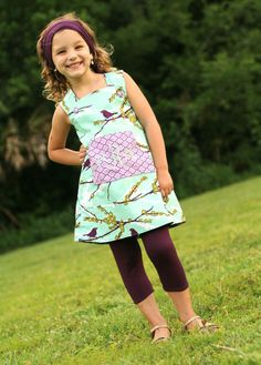 PDF Girls Dress Pattern - Daphne Wrap Dress and Top, Size 6 Month - 10 Years by The Cottage Mama $10.5