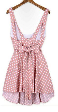 Bow dot dress